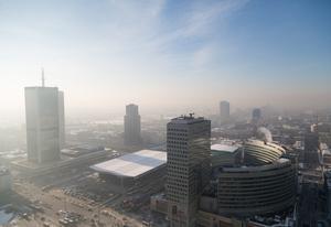 Smog over Warsaw