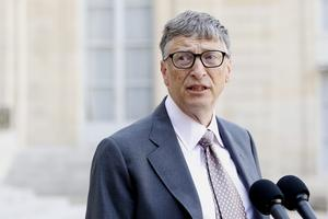 FRANCE GOVERNMENT BILL GATES MEETING