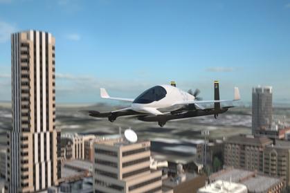Latające taksówki mają pojawić się w Dubaju i Dallas