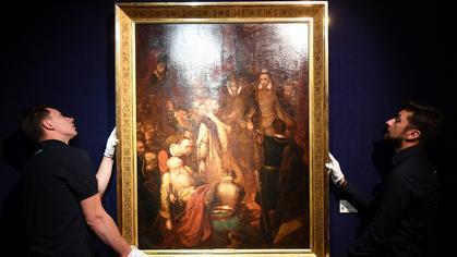 Obraz Jana Matejki sprzedany na aukcji za prawie 3,7 mln zł