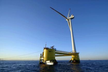 Pływająca farma wiatrowa powstaje u brzegów Portugalii