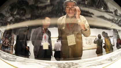 Malowany tuszem obraz chińskiego mistrza sprzedany za 50 mln dol.
