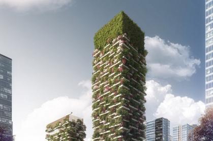 Wiszące ogrody będą walczyć ze smogiem