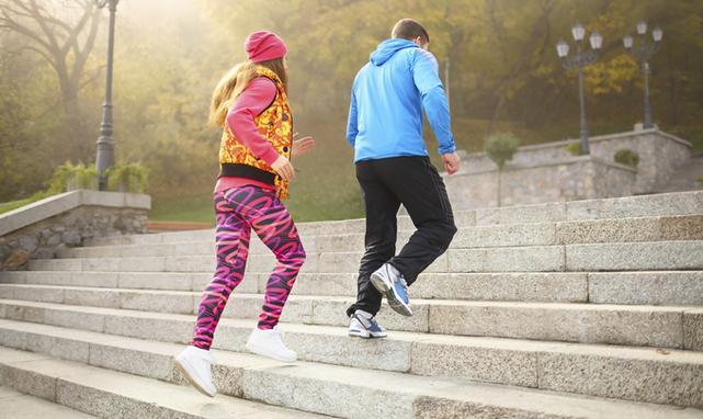 Najlepsze na spalanie kalorii jest bieganie po schodach
