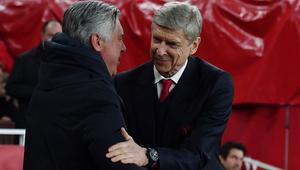 Wenger and Ancelotti