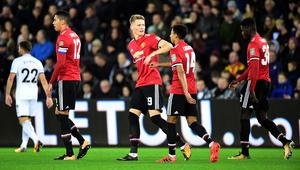 Carabao Cup Fourth Round - Swansea City vs Manchester United