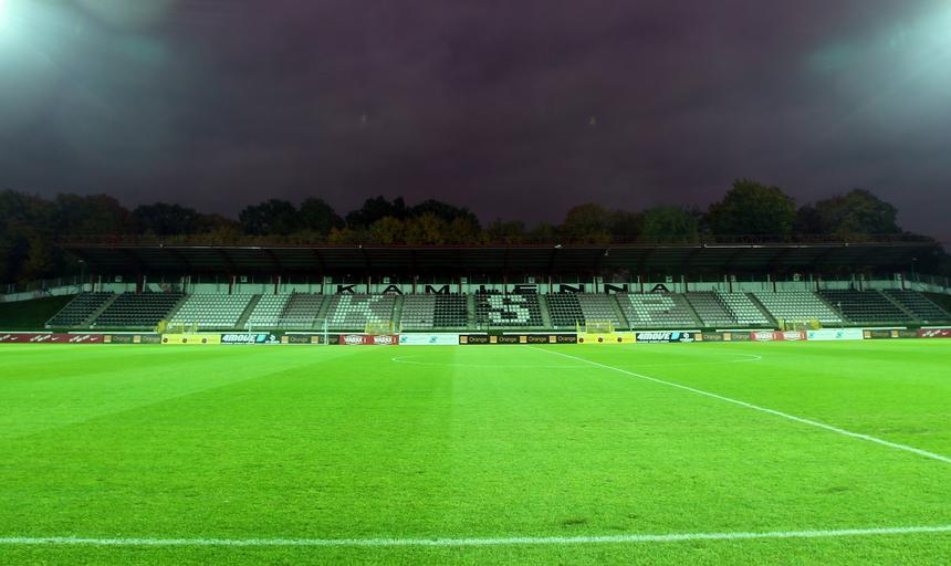 Stadion Polonii, trening reprezentacji Polski
