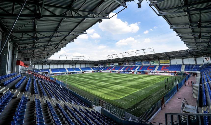 Stadion, Piast Gliwice, widok