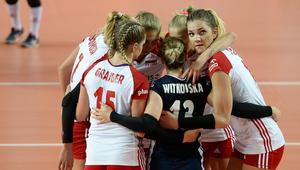 Polki cieszą się podczas meczu