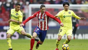 FOOTBALL - SPANISH CHAMP - ATLETICO MADRID v GETAFE