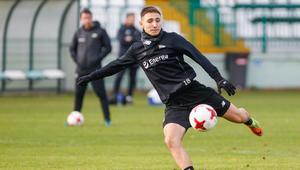 Pilka nozna. Ekstraklasa. Lechia Gdansk. Trening. 16.11.2017