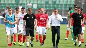 Pilka nozna. Nice I liga. Zaglebie Sosnowiec - GKS Tychy. 04.06.2017