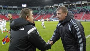 Pilka nozna. I liga. GKS Tychy - Miedz Legnica. 29.10.2016