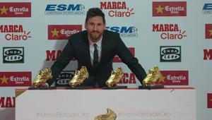 Barcelona's player Lionel Messi