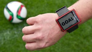 Presentation of goal line technology 'Hawk Eye'