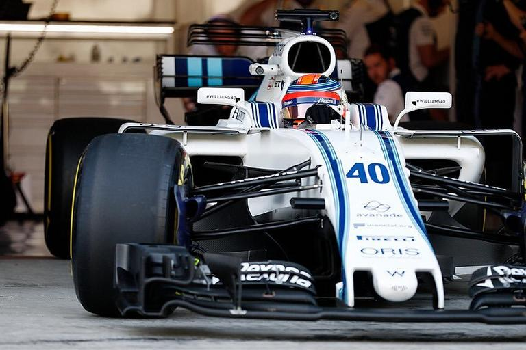 Robert Kubica Williams test