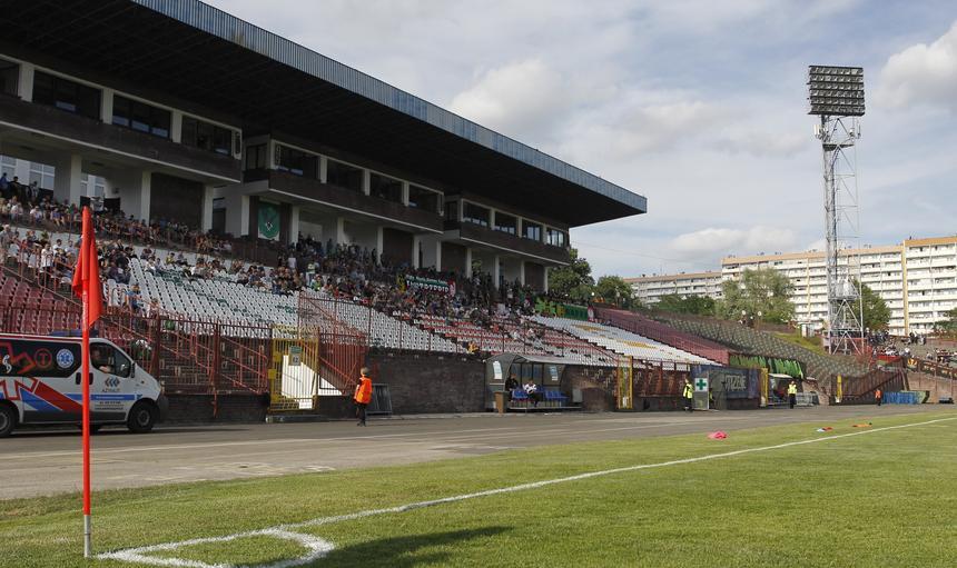 Stadion w Jastrzębiu