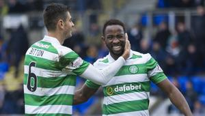 FOOTBALL - SCOTTISH CHAMP - ST JOHNSTONE v CELTIC