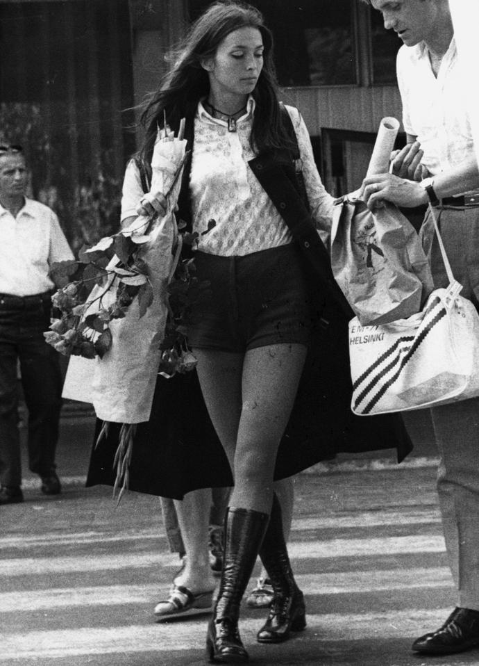 """Teresa Sukniewicz wygrała w 1970 roku plebiscyt """"PS"""" na najlepszego polskiego sportowca."""