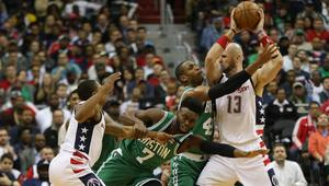 NBA: Playoffs-Boston Celtics at Washington Wizards