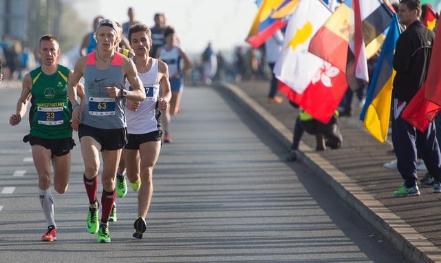 Maraton to bardzo wyczerpujaca konkurencja