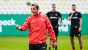 Adam Owen pierwszy trening z Lechią Gdańsk