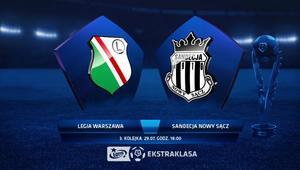 Legia Warszawa – Sandecja Nowy Sącz