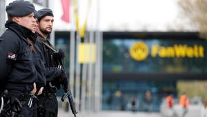 Security ahead of Borussia Dortmund vs. AS Monaco