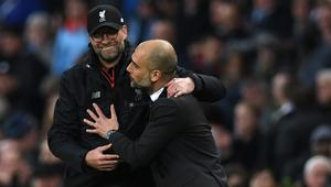 Klopp and Guardiola