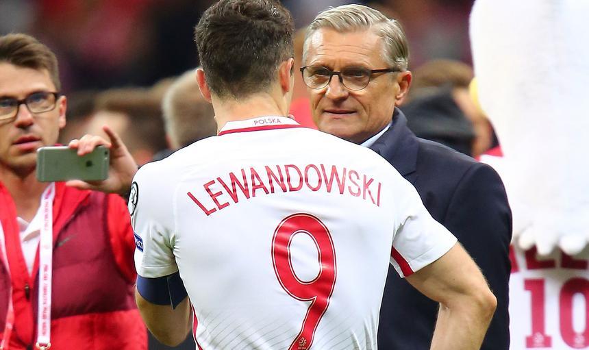 Robert Lewandowski Adam Nawałka