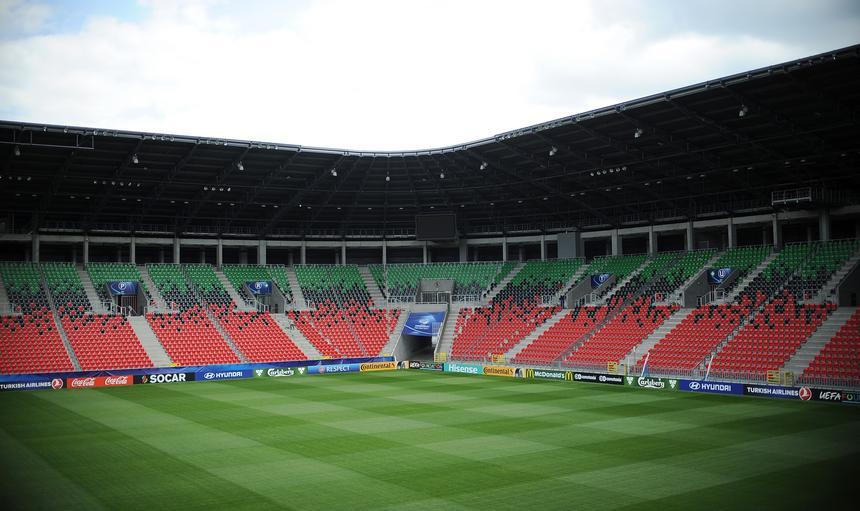 Stadion Miejski w Tychach przed startem UEFA Euro U21