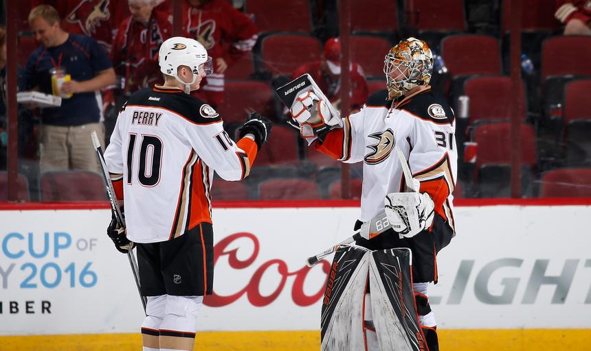 Anaheim Ducks v Arizona Coyotes