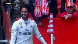 Skrót Sporting - Real 2:3