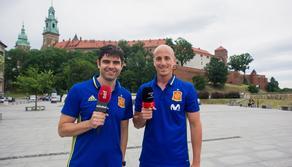 Pilka nozna. Euro U21. Sefutbol media Hiszpanskiej Federacji Pilki Noznej. Sesja fotograficzna. 29.06.2017
