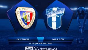 Piast Gliwice rozgromił Wisłę Płock