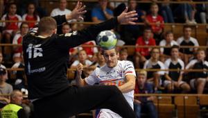 Pilka reczna. PGNiG Superliga. NMC Gornik Zabrze - Gwardia Opole. 30.09.2017
