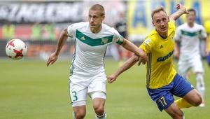 Pilka nozna. Ekstraklasa. Arka Gdynia - Slask Wroclaw. 16.07.2017