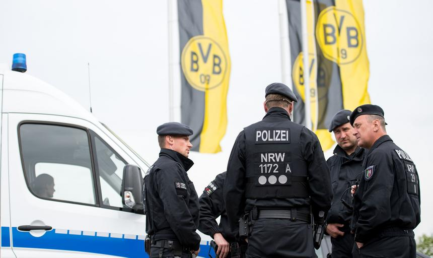 After the explosions at the Borussia Dortmund team bus