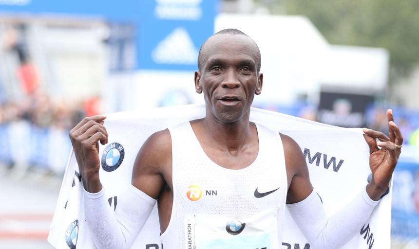 Germany: Eliud Kipchoge wins the 44th BMW Berlin Marathon