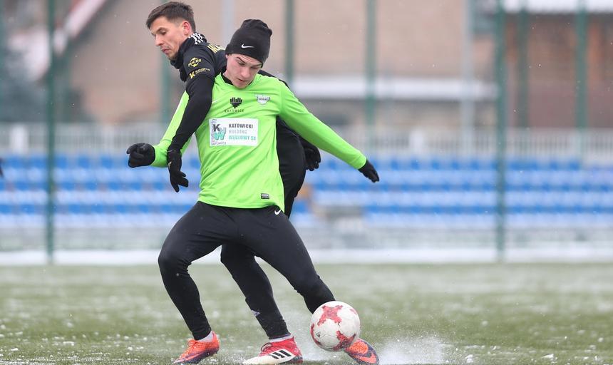 Pilka nozna. Sparing. GKS Katowice - Rozwoj Katowice. 24.02.2018