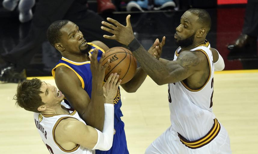 Cleveland Cavaliers Golden State Warriors finał NBA 2017