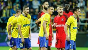 Pilka nozna. Liga Europy. Arka Gdynia - FC Midtjylland. 27.07.2017