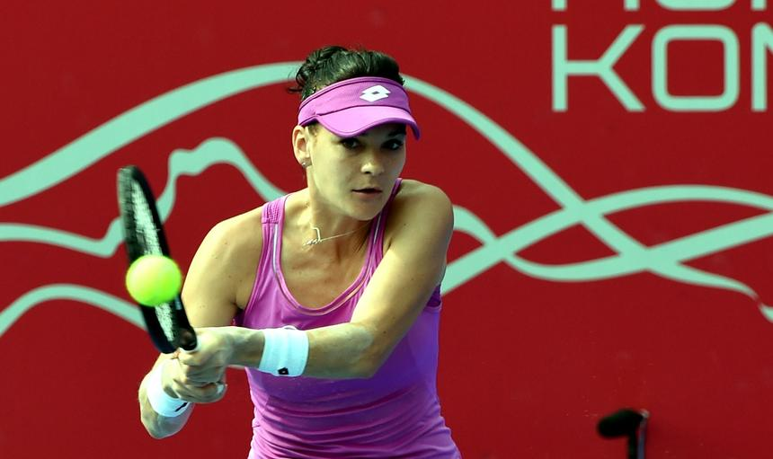 Agnieszka Radwanska eliminates Zhang Ling from Prudential Hong Kong Tennis Open 2017