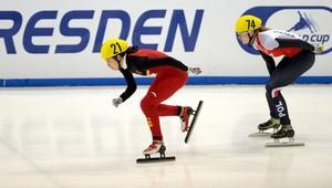 Short Track Speed Skating World Cup in Dresden