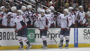 NHL: Washington Capitals at Anaheim Ducks