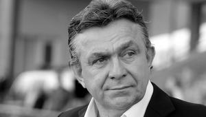 Trener Janusz Wójcik