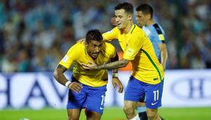 Paulinho Brazylia Urugwaj