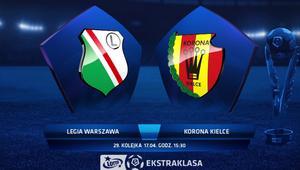 Bezbarwny mecz na Łazienkowskiej. Legia remisuje z Koroną