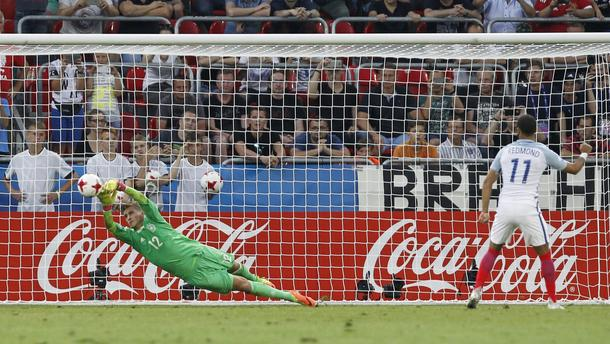 Pilka nozna. Euro U21. Anglia - Niemcy. 27.06.2017