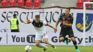 Pilka nozna. I liga. GKS Tychy - Gornik Zabrze. 14.08.2016